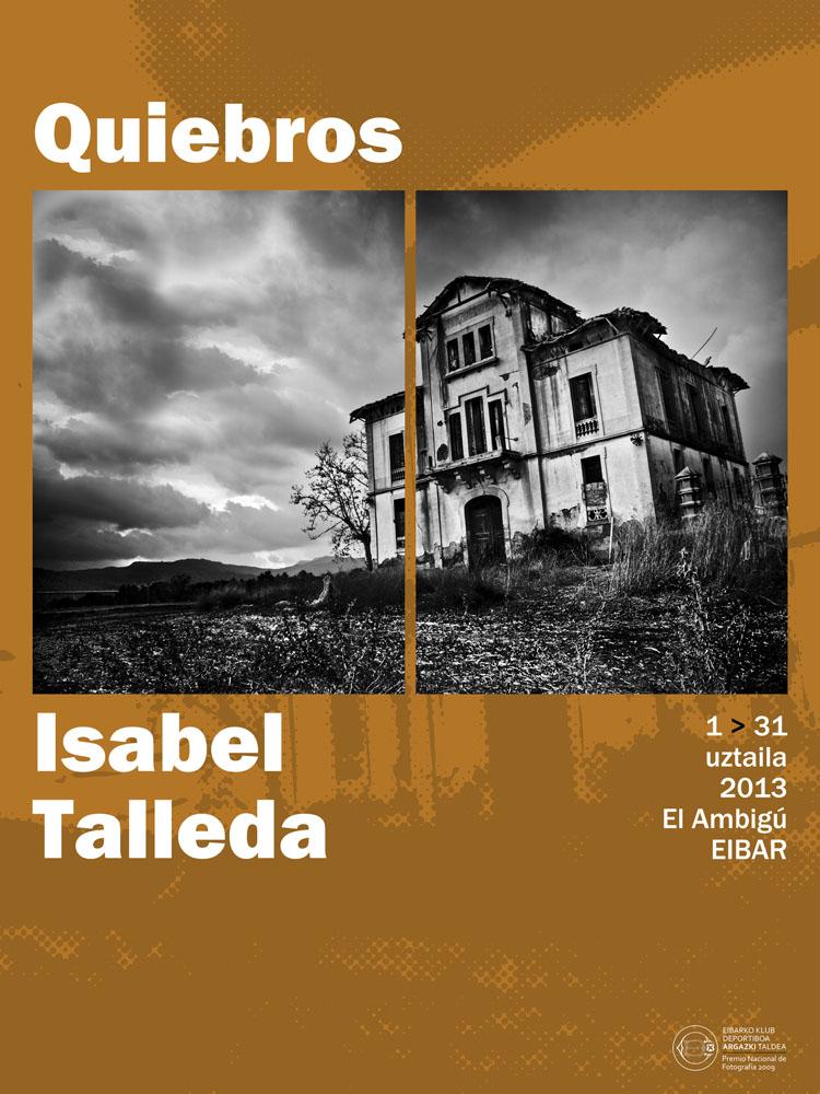 Cartel Isabel Talleda