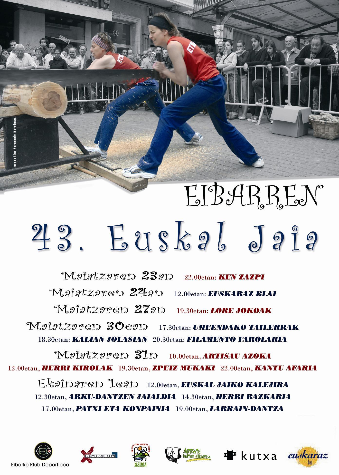 Euskal Jaiko kartela