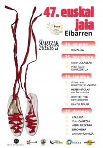 47. Euskal Jaiaren kartela