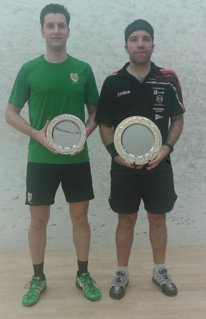 David Marín y Alberto Ferreiro