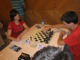 Alexandra Suárez - Julen Garro (Foto: Jesús Ángel Lobo)