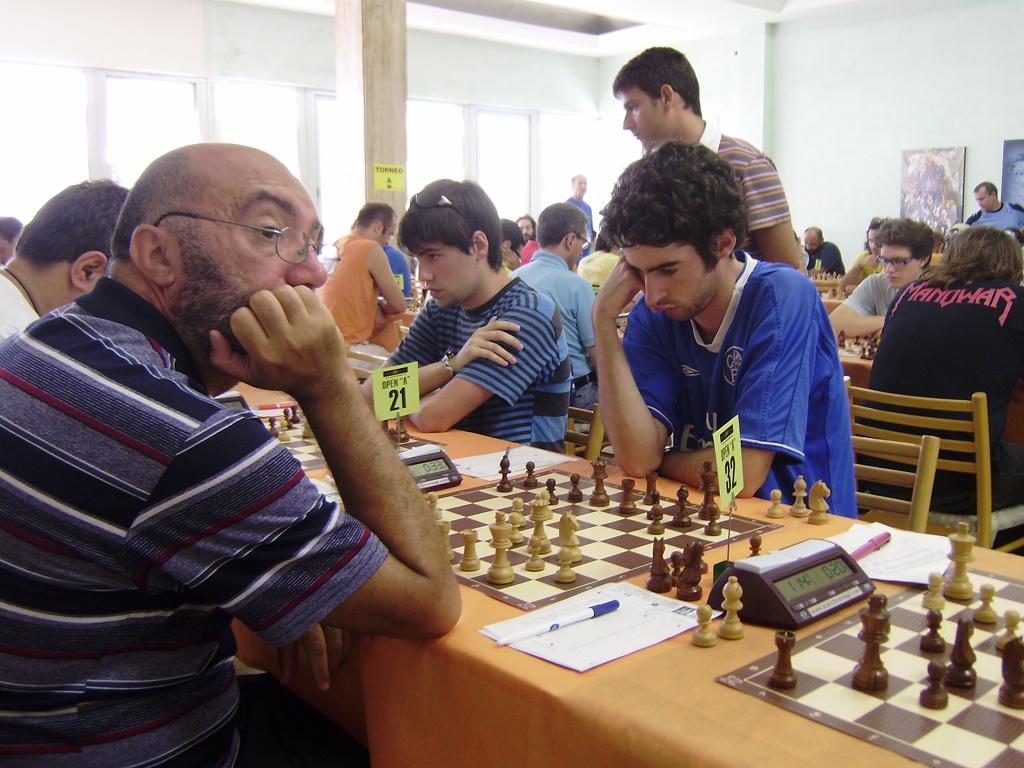Asier Etxagibel y Haritz Garro en la 6ª ronda