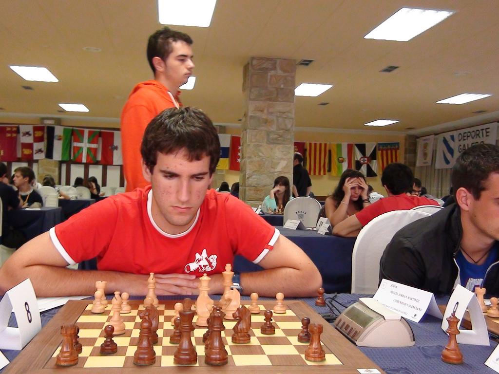Julen Garro (foto Federación Española de Ajedrez)