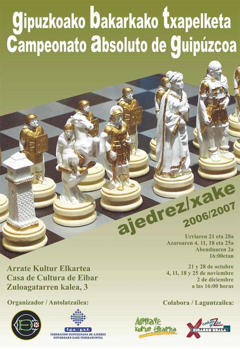 Cartel del Cto. Absoluto de Gipuzkoa