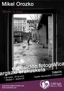 Argazki erakusketa Santurtzin. Exposición fotográfica en Santurce.