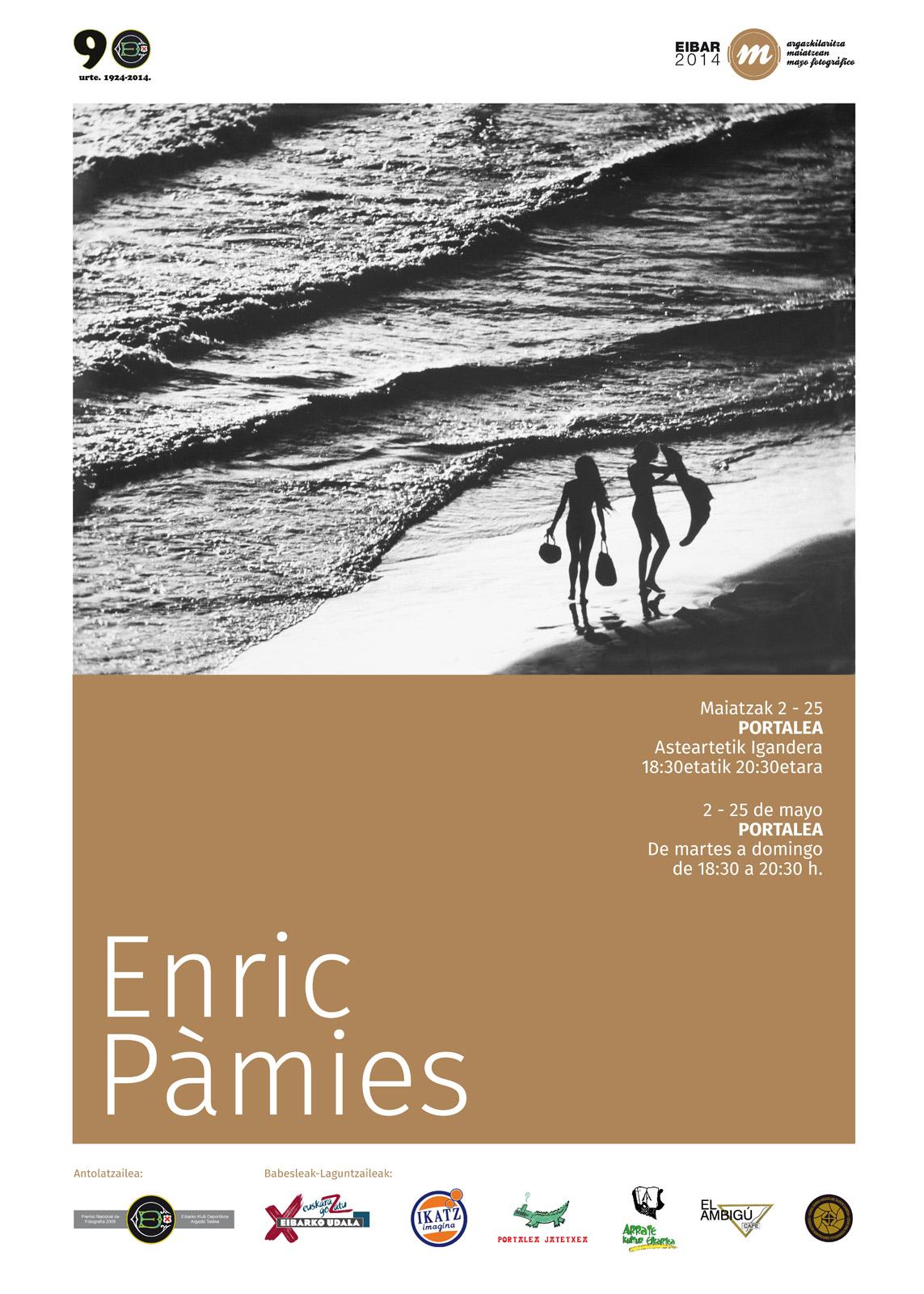 Cartel ENRIC PÀMIES
