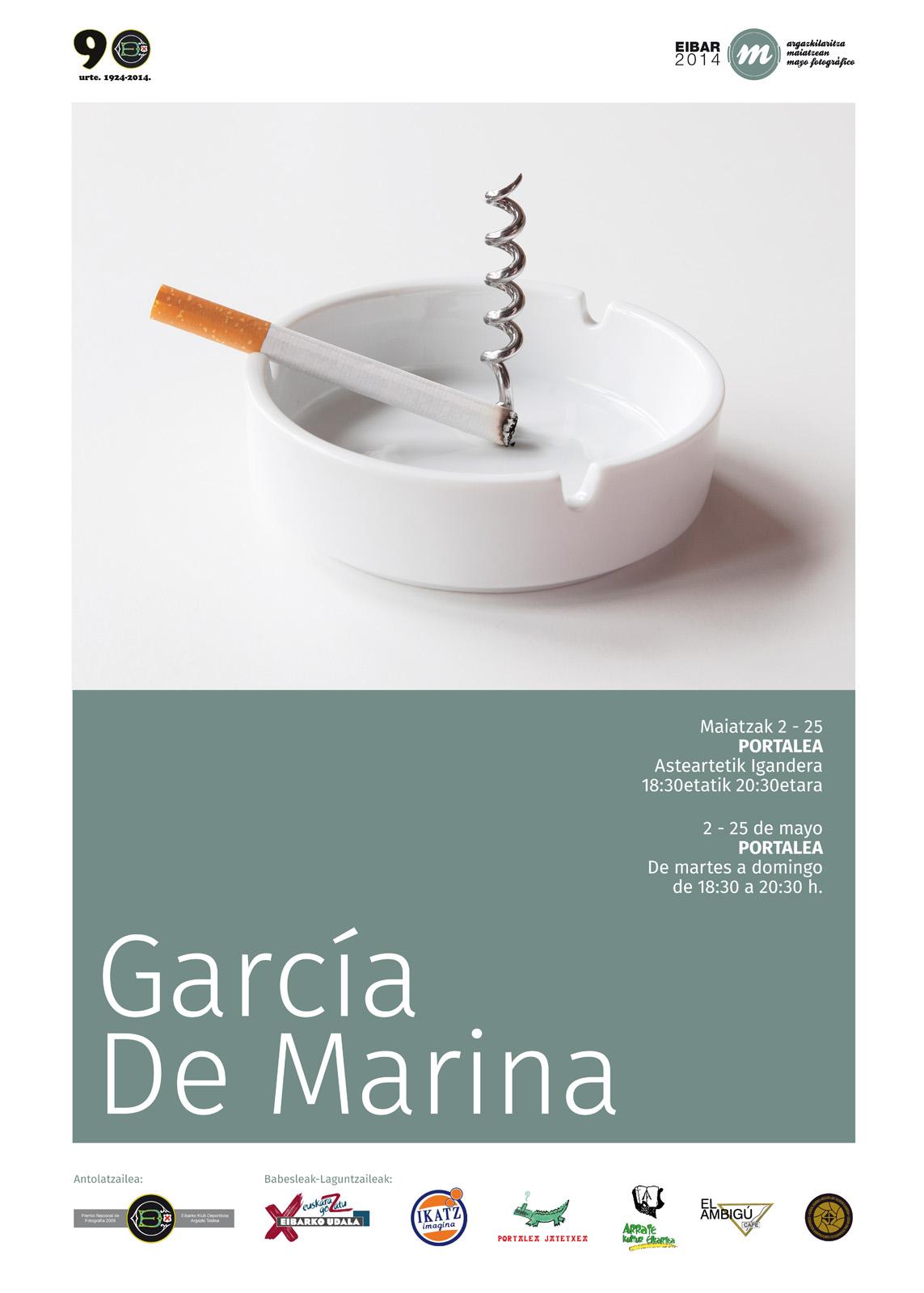 Cartel GARCÍA DE MARINA