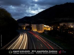 Argazkilaritza ikastaroen erakusketak / exposiciones en Eibar del cursillo de fotografía. Diciembre 2014 abenduak