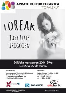 Jose Luis Irigoienen argazki erakusketa Eibarren hasiera ematea / Inauguración de la exposición de fotografía de Jose Luis Irigoien en Eibar