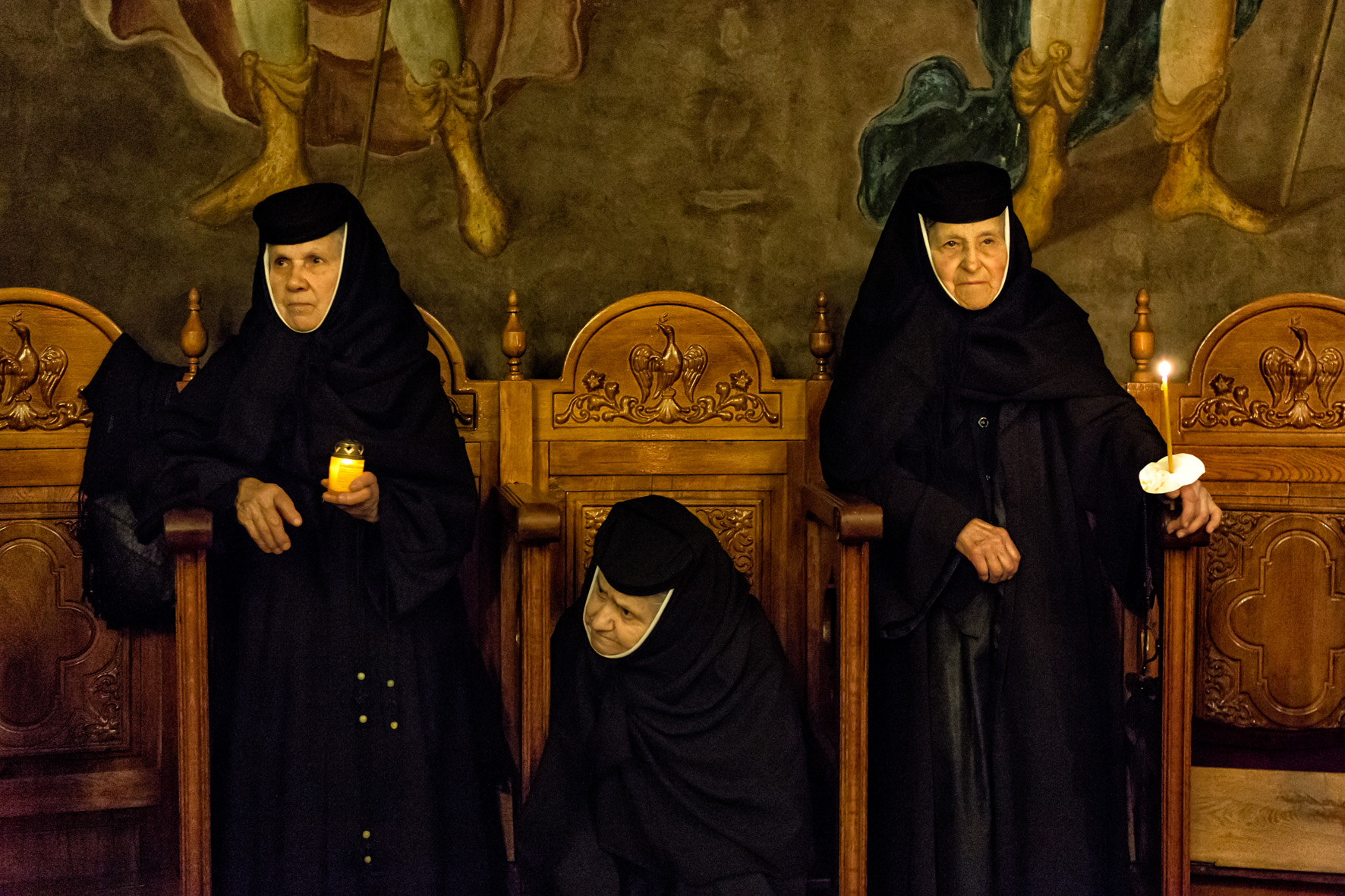WORKSHOP-SANTOS MORENO_Orthodox nuns_EIBAR-2015