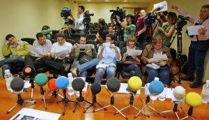 Argazkilaritza Maiatzean Eibarren prentsaurrekoa/Rueda de prensa del Mayo fotográfico en Eibar