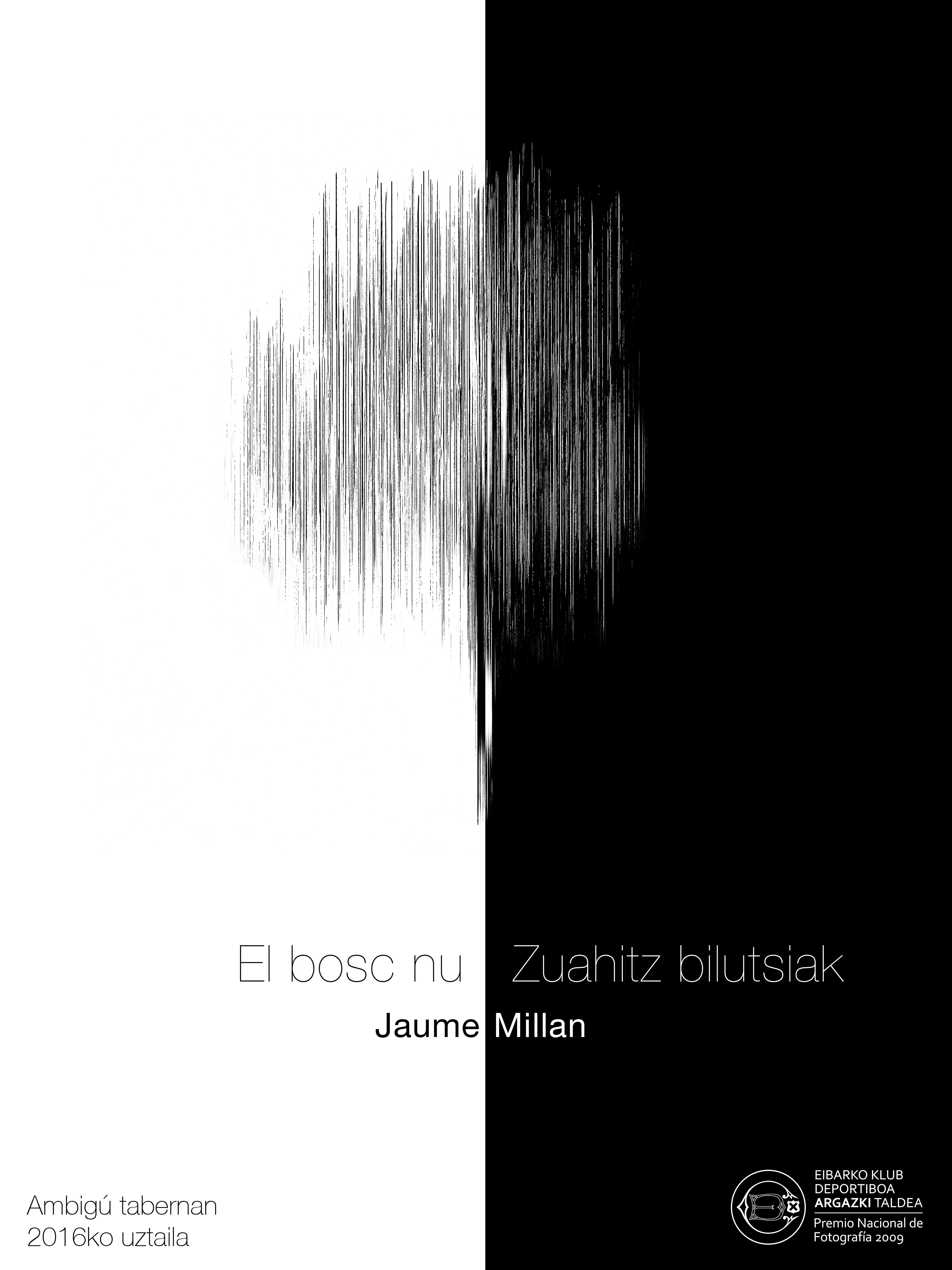 cartel Jaume Millán_El bosc Nu