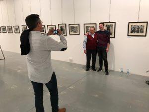 Erakusketen irekiera – Inauguración de las exposiciones