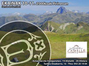 2000koak Pirineoan.Senda de Camille II