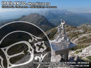 Bizkaiko Bira 10. Karrantza – MAZO (823m) – Lanestosa
