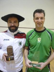 Finalistas: Alberto Ferrreiro y David Marín