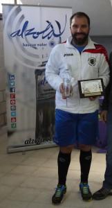 Alberto Ferreiro Campeón de Veteranos +35