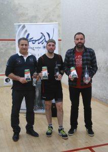 Miguel Cabanillas, Sergio Salgado, Alberto Ferreiro.