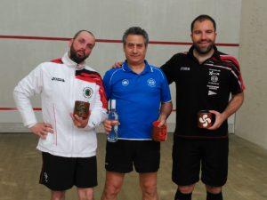 Sergio Salgado, Miguel Cabanillas y Alberto Ferreiro
