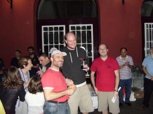 Alain Prieto e Ibon Martín recogen el 3º premio