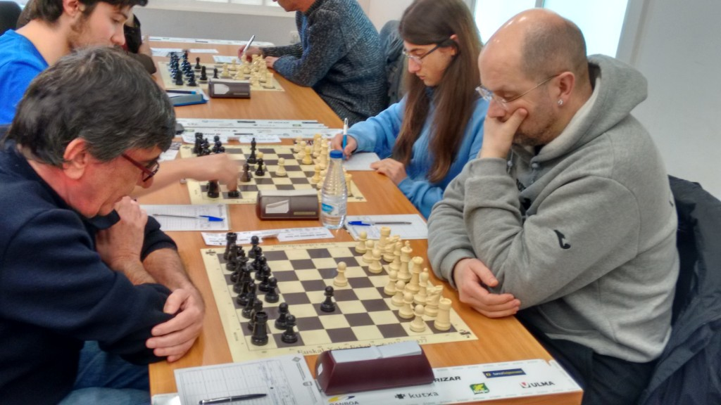 Jose Antonio Garrido vs. Juan Ignacio Saenz